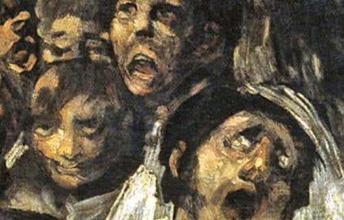 Die Schwarzen Gemälde von Francisco de Goya