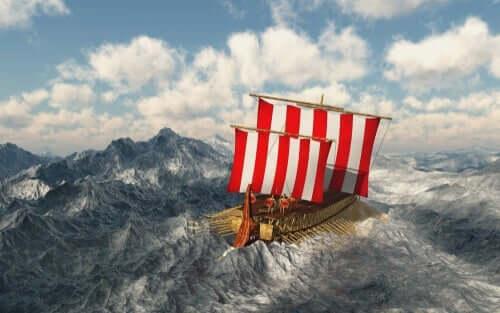 Die Legende von Odysseus, einem cleveren Helden