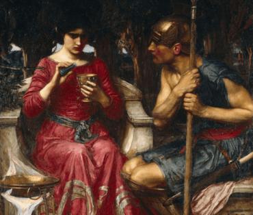 Der Mythos von Medea, einer verliebten Zauberin