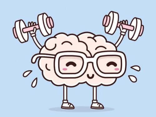 Neurobics ist ein mentales, Gehirn- oder Neuronentraining