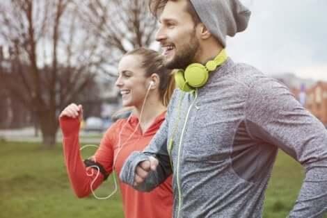 Musik und körperliche Betätigung gehen Hand in Hand