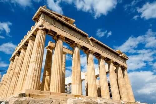 Mythos von Asklepios - Parthenon