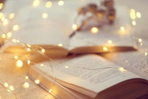 Wenn du jemanden liebst - Buch mit Lichterkette