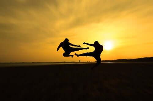 Sun Tzu - zwei Kämpfer