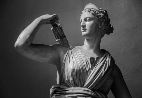 Der Mythos von Artemis, der Göttin der Natur