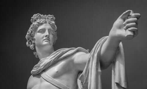 Der Mythos der Musen - griechischer Gott
