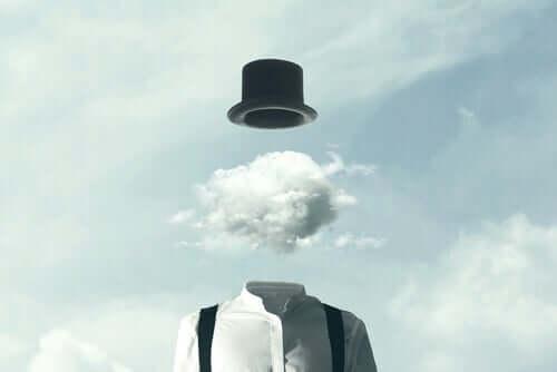 Gehirn vervielfacht Probleme - Gehirn aus Wolken