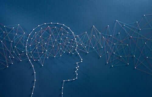 anders denken, um anders zu leben - Kunstwerk mit Gehirn
