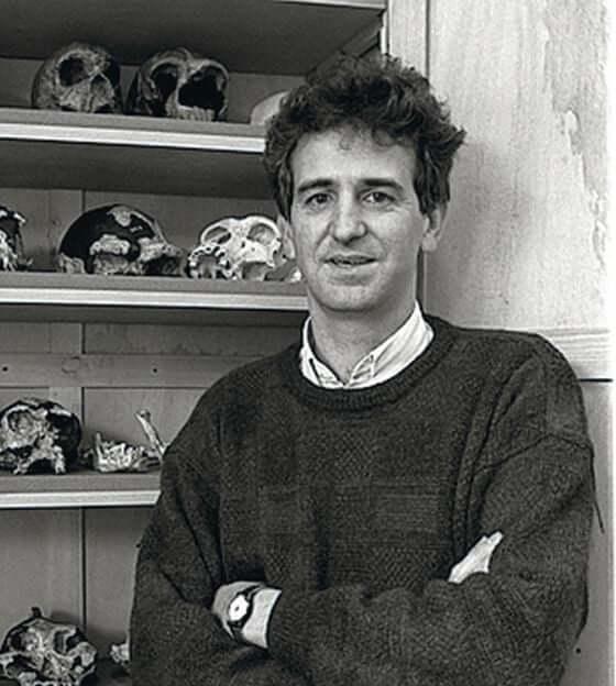 Juan Luis Arsuaga - in jungen Jahren