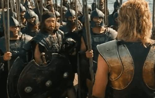 Mythos von Achilles - Trojanischer Krieg
