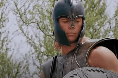 Mythos von Achilles - im Krieg