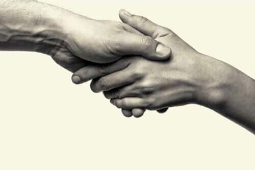 Prosoziales Verhalten - eine helfende Hand