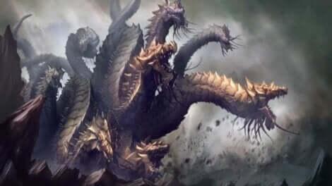 antifragil - Bild einer Hydra