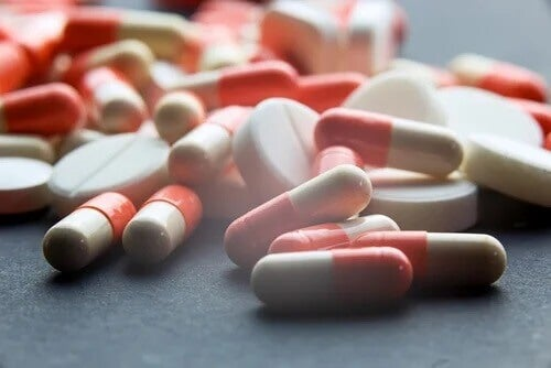 Eine Auswahl verschiedener Psychopharmaka.