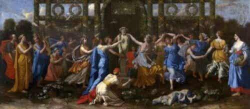 Der Mythos von Hymen, dem griechischen Gott der Ehe