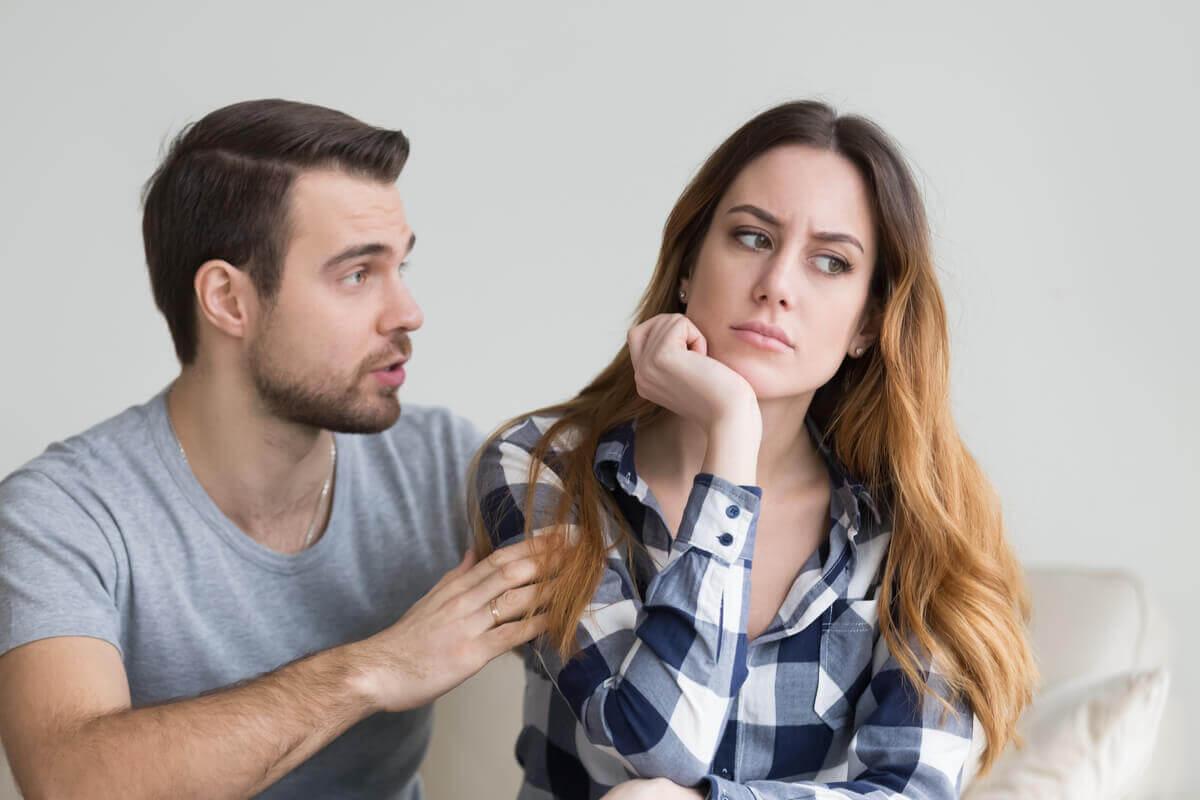 Narzisstische Eifersucht - streitendes Paar