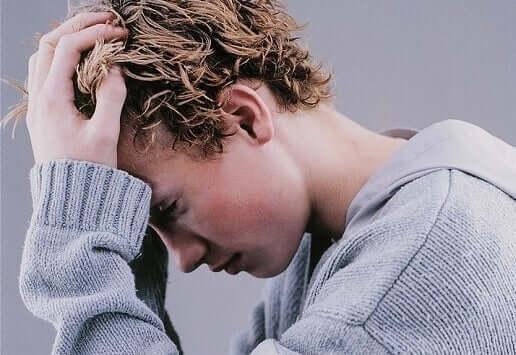 Die Situation könnte schlimmer sein - verzweifelter Teenager