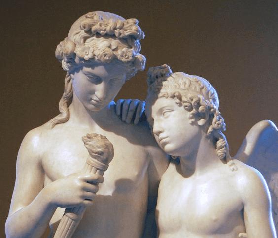 Mythos von Hymen - Statue
