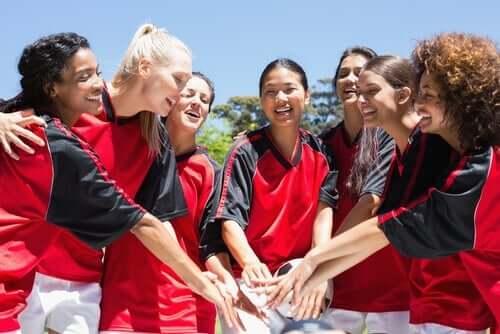 Sport und Frauen - Frauenfußball