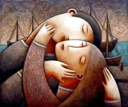 Wenn du liebst, teilst du deine Seele mit einem anderen Menschen