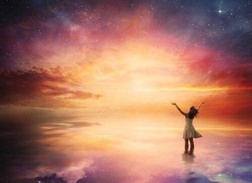 Mut bedeutet, Dinge zu verwirklichen, um eine befriedigendere Realität zu haben