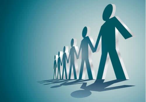 Die Menschen sollten Teil einer Gruppe sein, die die Bedürfnisse ihrer Gemeinschaft befriedigen konnte