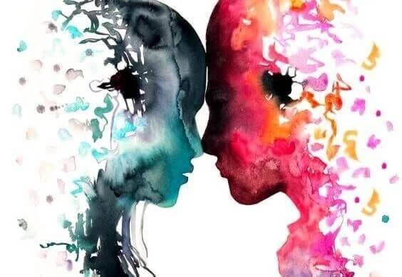 Wenn du liebst, teilst du deine Seele mit einem anderen Menschen.