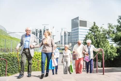 Altersfreundliche Städte für mehr Wohlbefinden