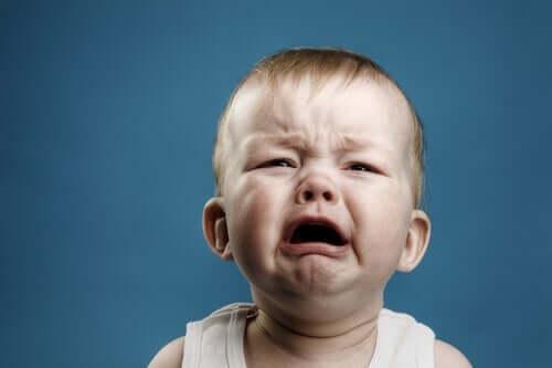 Affektive Ambivalenz - weinendes Baby