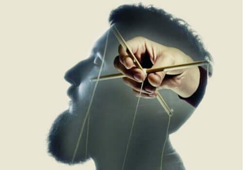 James Vicary - Mann an Marionettenfäden