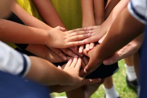 Mannschaftssport - Zusammenhalt