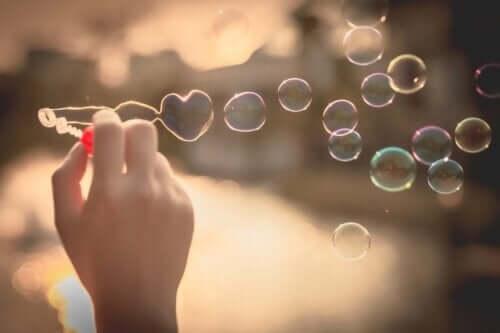 Fakten über die Liebe - Seifenblasen