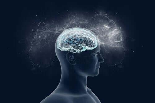 Gehirn trainieren - erleuchtetes Gehirn