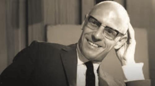 Ein Bild von Michel Foucault