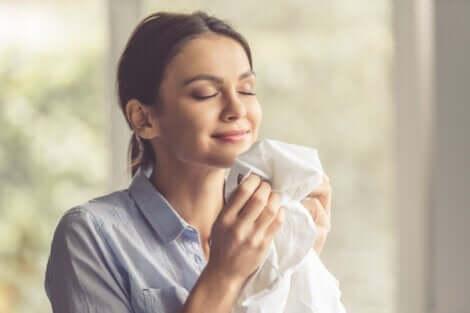 Der Geruch von Wäsche kann Erinnerungen auslösen