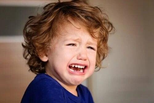 Kind hat Wutanfälle