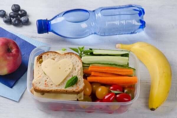 Gesunde Gewohnheiten entwickeln - Lunchbox