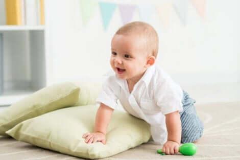 das sensomotorische Entwicklungsstadium - Baby