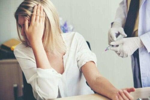 Trypanophobie oder die irrationale Angst vor Spritzen und Nadeln
