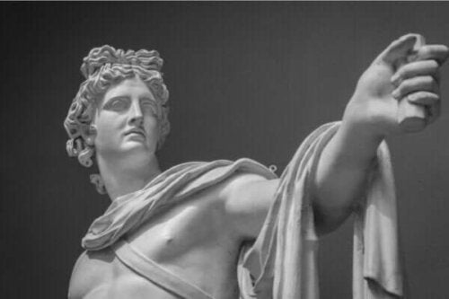 Der Mythos von Apollo, dem Gott der Prophezeiung