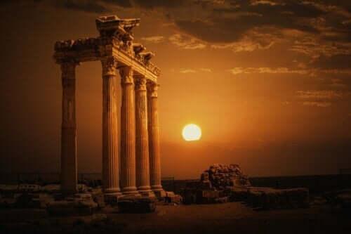 Der Tempel des Mythos von Apollo
