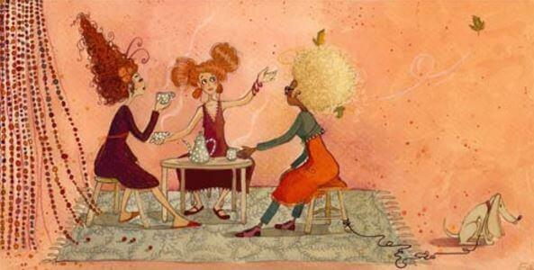 Wie Empathie deine Beziehungen verbessert - 3 Frauen beim Kaffekränzchen