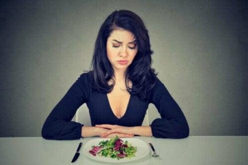 Nahrungsmittelphobien sind nicht auf die Angst vor Gewichtszunahme zurückzuführen
