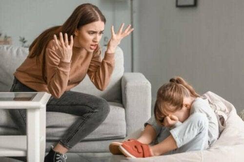 Wenn Eltern die Geduld mit ihren Kindern verlieren