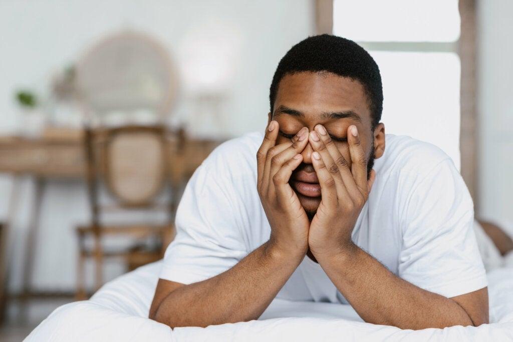 Schlaflosigkeit durch emotionale Belastung