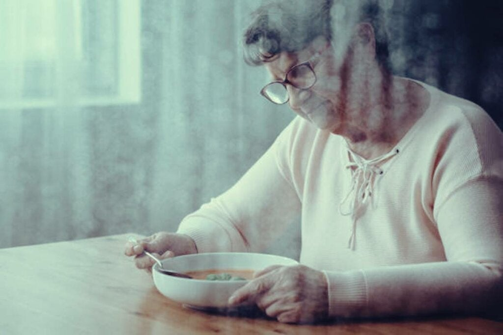 Warum haben Menschen mit Demenz Probleme beim Schlucken von Nahrung?