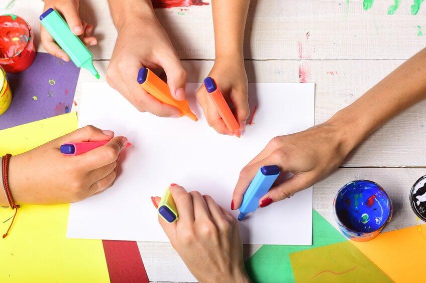Kreativität beim Malen