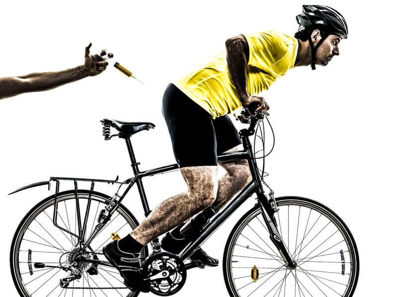 Spitzensportler und Doping